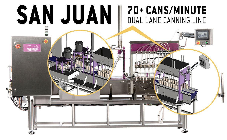 San Juan Beverage Canning Machine